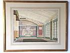 Neoclassic Architectural Interior Design painting