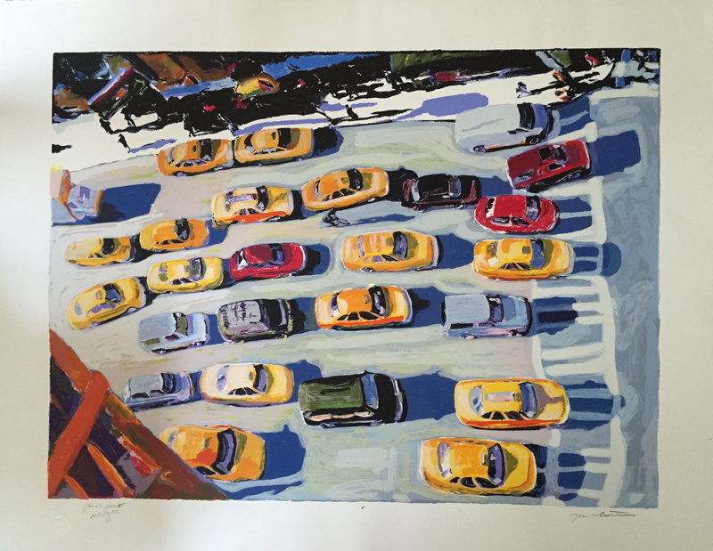 Screen Print New York Jump Start Tom Christopher