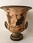 Antique Greek Hydria jar classic ancient design Grand tour