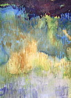 Ernest Garthwaite Abstract landscape Marsh series #1