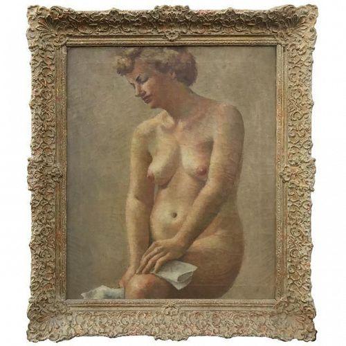 Impressionist Nude Female Oil Painting