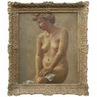 Impressionist Nude Female Oil Painting