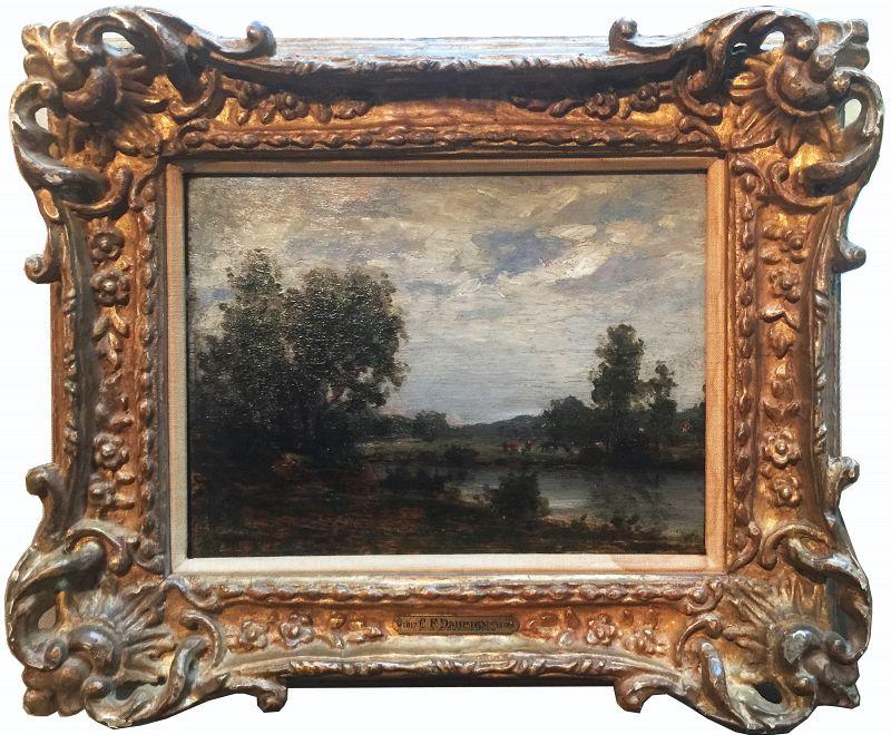 Charles-François Daubigny French Landscape Oil