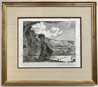 Colosseum Ruins 18th C Engraving by Georg Kilian