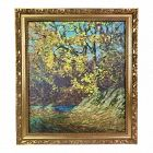 Impressionist Landscape Oil Painting by Harry Hoffman Old Lyme School