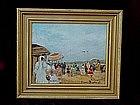 French Impressionist Beach Scene Suzanne Demarest