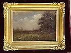 American Impressionist Landscape Albert Duvannes