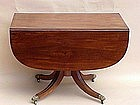 American Federal Sofa Breakfast table New York c.1830