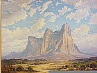 Joseph Frey Southwest Landscape Western art