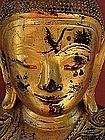 Antique Burmese Gilt Buddha c.1760