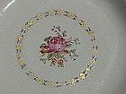 Chinese Export porcelain Floral design plates c.1790