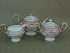 Japanese porcelain Nippon Nortake Moriage Tea Set