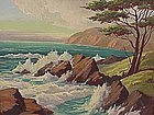 Oliver Glen Barrett Big Sur California Seascape