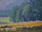 Frank Girardin California impressionist landscape oil