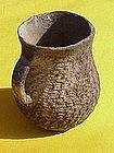 Anasazi Culture corrugated pot Native American art