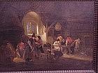 Adrian Van Ostade Dutch Old Master tavern scene c.1650