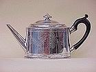 Georgian Sterling Tea Pot Hester Bateman London 1780