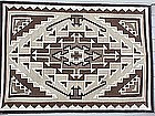 Navajo Two Grey Hills Rug Native American textile art