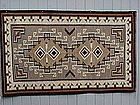 Fine Navajo Teec Nos Pos Indian rug Bessie Little Pouch