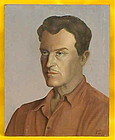 Claude Buck Self Portrait famous American Artist