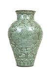 Korean Sgraffiato Punch'ong Jar