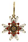WWII Japanese Sacred 6 Showa Medal Badge