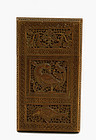 Indian India Anglo Sandalwood Card Case