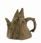 Old Chinese Yixing Tree Stump Shape Teapot Sg