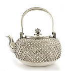 Japanese Silver Sterling Teapot Sg