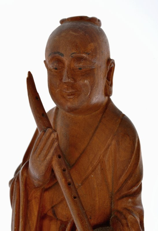 Early 20C Chinese Huanghuali Wood Carved 8 Immortal Figurine