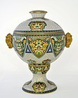 Large Chinese Cloisonne Enamel Covered Vase