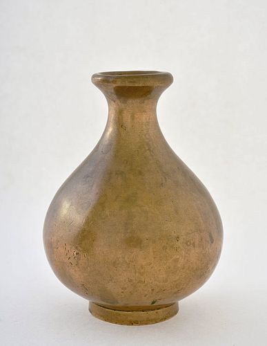 18th Century Chinese Small Bronze Vase