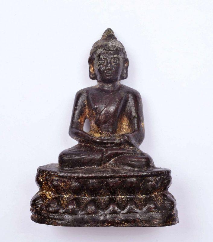 12/13C Dali kingdom Gilt Bronze Shakyamuni Buddha