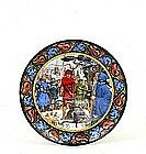 King Arthur Sword in the Stone Series Wedgwood Plate