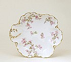 French Haviland Limoges Hand Painted Flower Bowl Mk