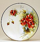 Old French Limoges Limoge Flower Charger Sg
