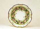Antique French Hand Painted Limoges Bowl Flower Sg