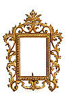 Art Nouveau Gilded Bronze Photograph Painting Frame