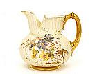Antique Royal Worcester Pitcher Ewer Vase Flower