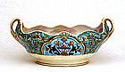 Old Japanese Nippon Noritake Art Deco Lg Bowl Mk