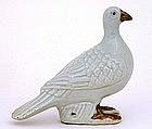 Chinese Export Mudman Mud Man Men Bird Pigeon