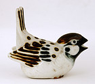 Japanese Studio Porcelain Imari Kutani Bird Signed