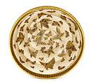 Meiji Japanese Satsuma Bowl 100 Butterfly Signed