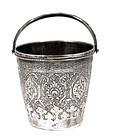 Old Persian Iran Islamic Silver Bucket MK