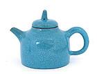Chinese Blue Glaze Yixing I'Hsing Teapot