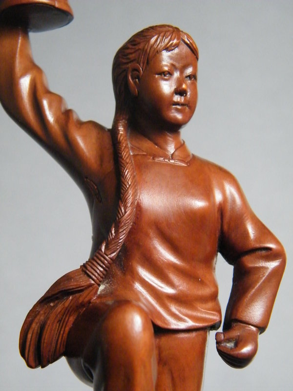 Rare Cultural Revolution Carving PLA Ballet,  1966-1976
