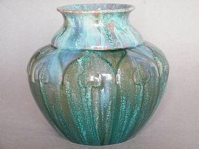 Art Nouveau Style Pilkington's Royal Lancastrian Vase