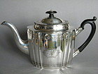 George III Sterling Silver Teapot - Smith & Hayter 1797
