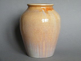 William Howson Taylor Ruskin Pottery Vase - Dated 1927