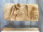 Khmer Sandstone Relief Angkor Period 12th-13th  Century